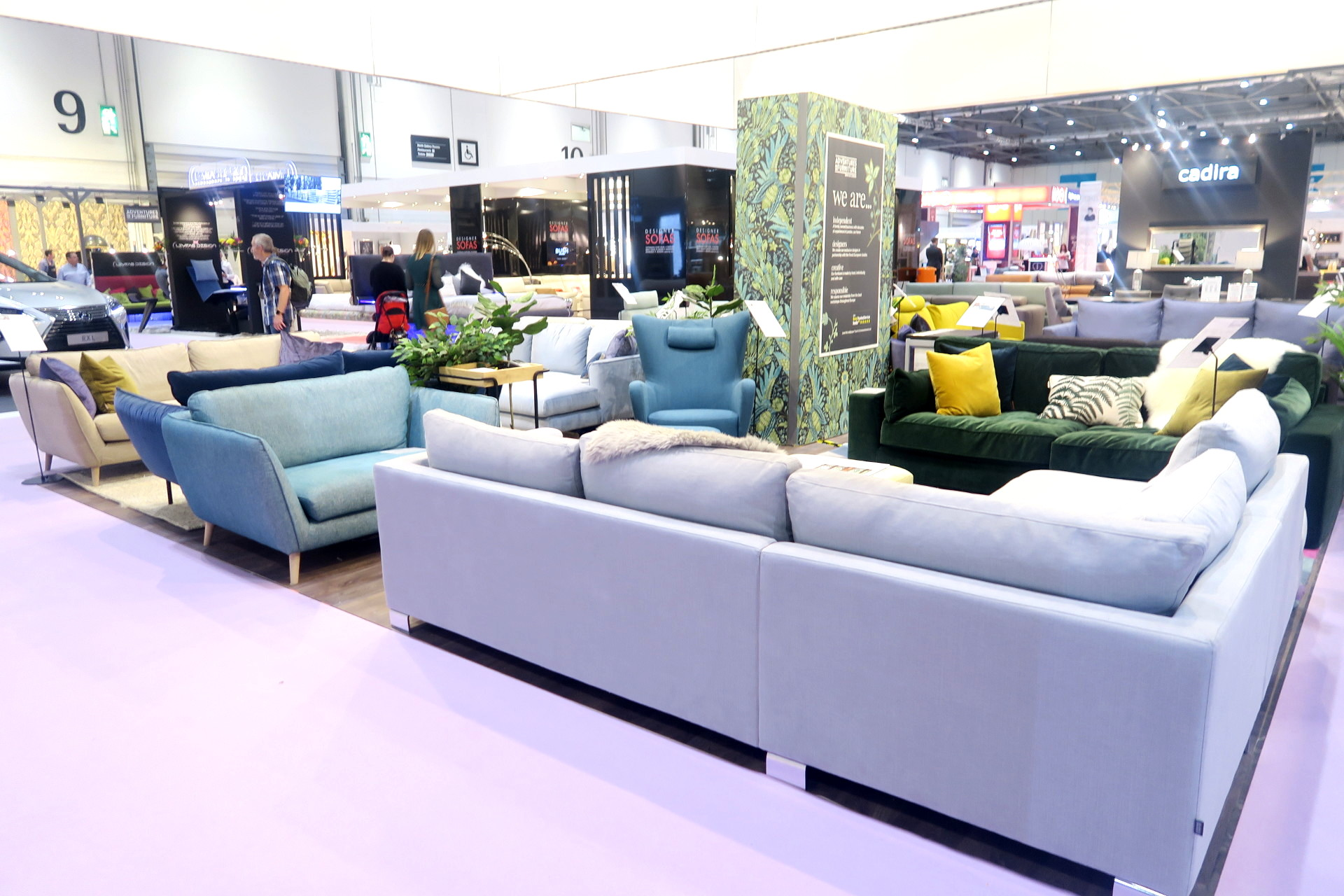 Designer Sofas - Grand Designs Live