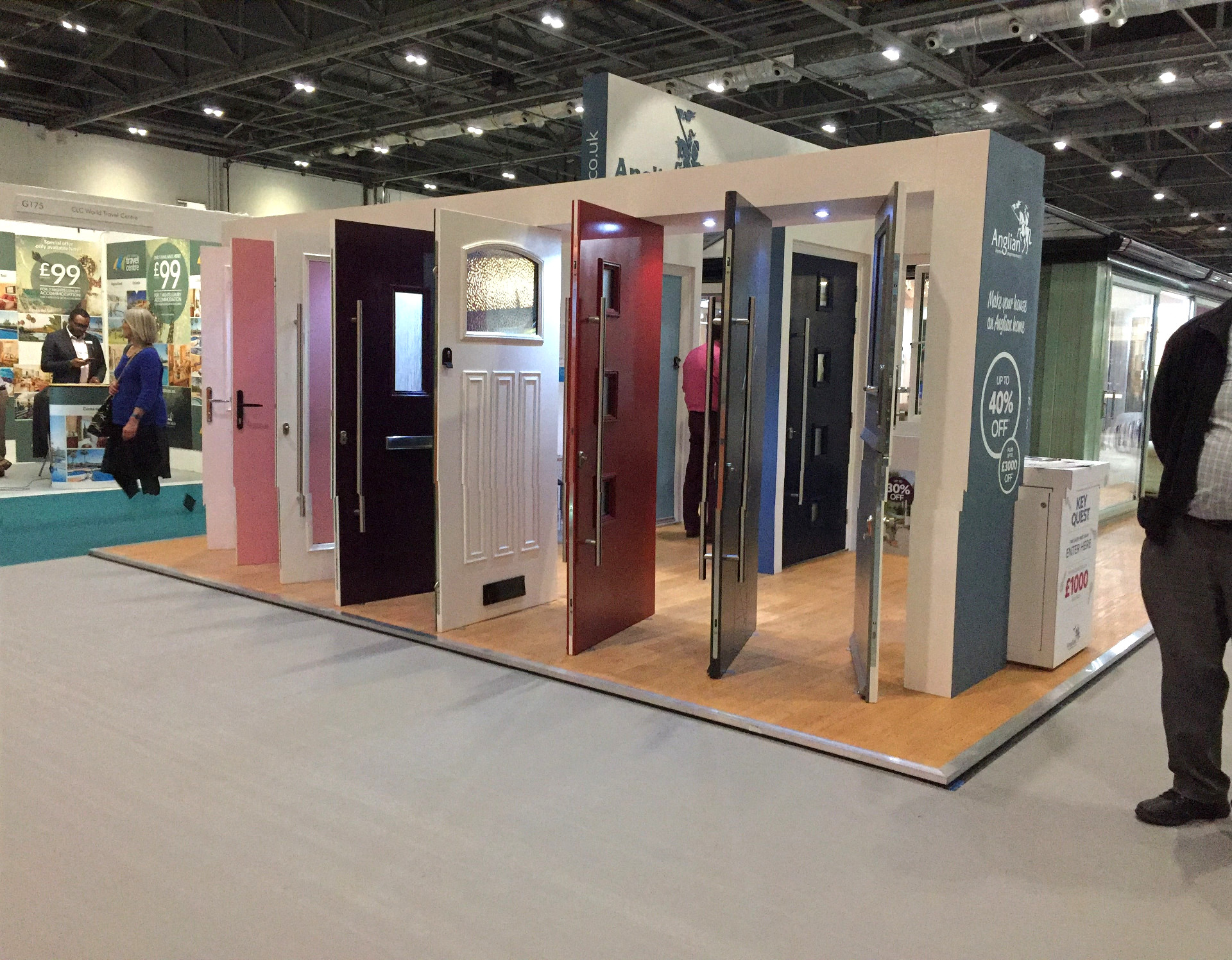 Colourful Front Doors - Grand Designs Live